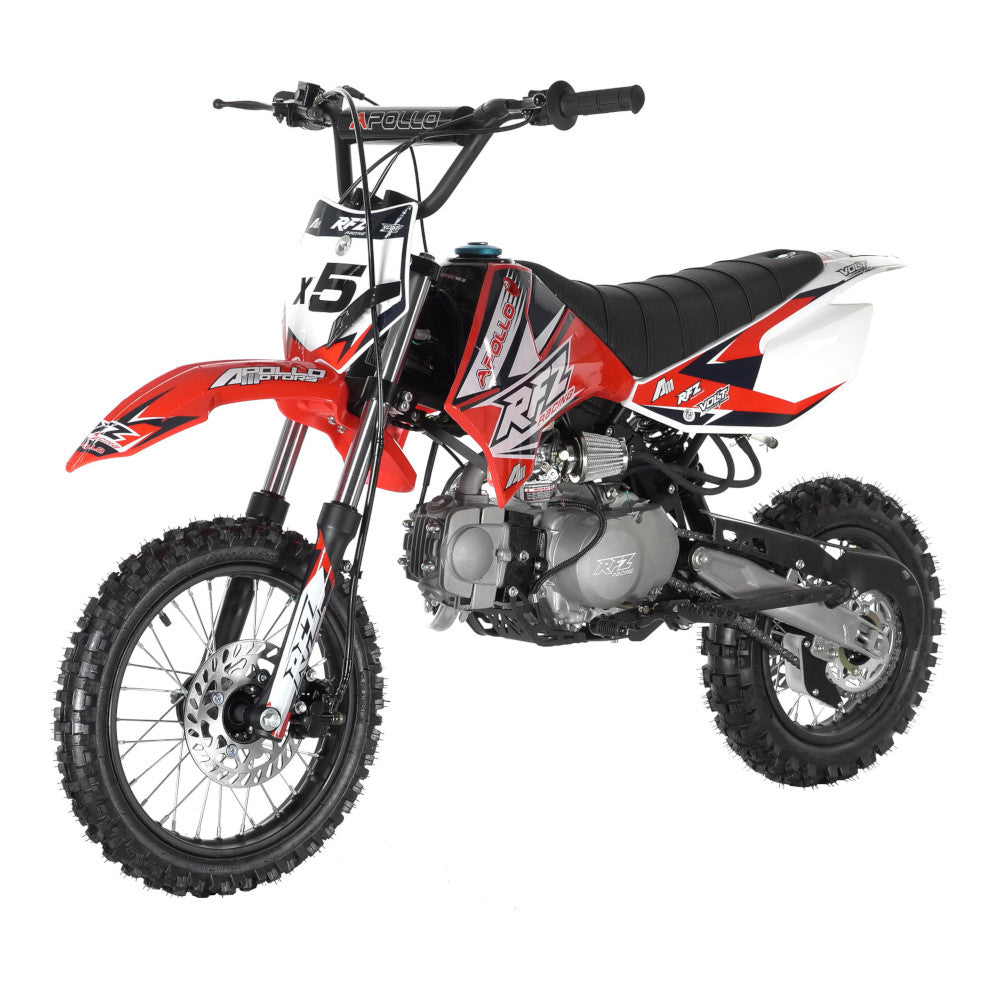 Apollo DB-X5 125cc Kids Dirt Bike - Power Dirt Bikes