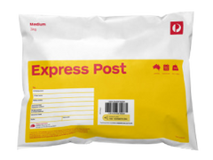 Express Post 3 kg Satchel Delivery