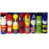 Super Hero Battery Wrap Suits 18650
