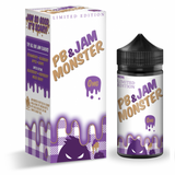 Jam Monster - Peanut Butter & Jam Grape 100ml
