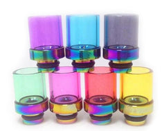 Rainbow Glass Drip tips