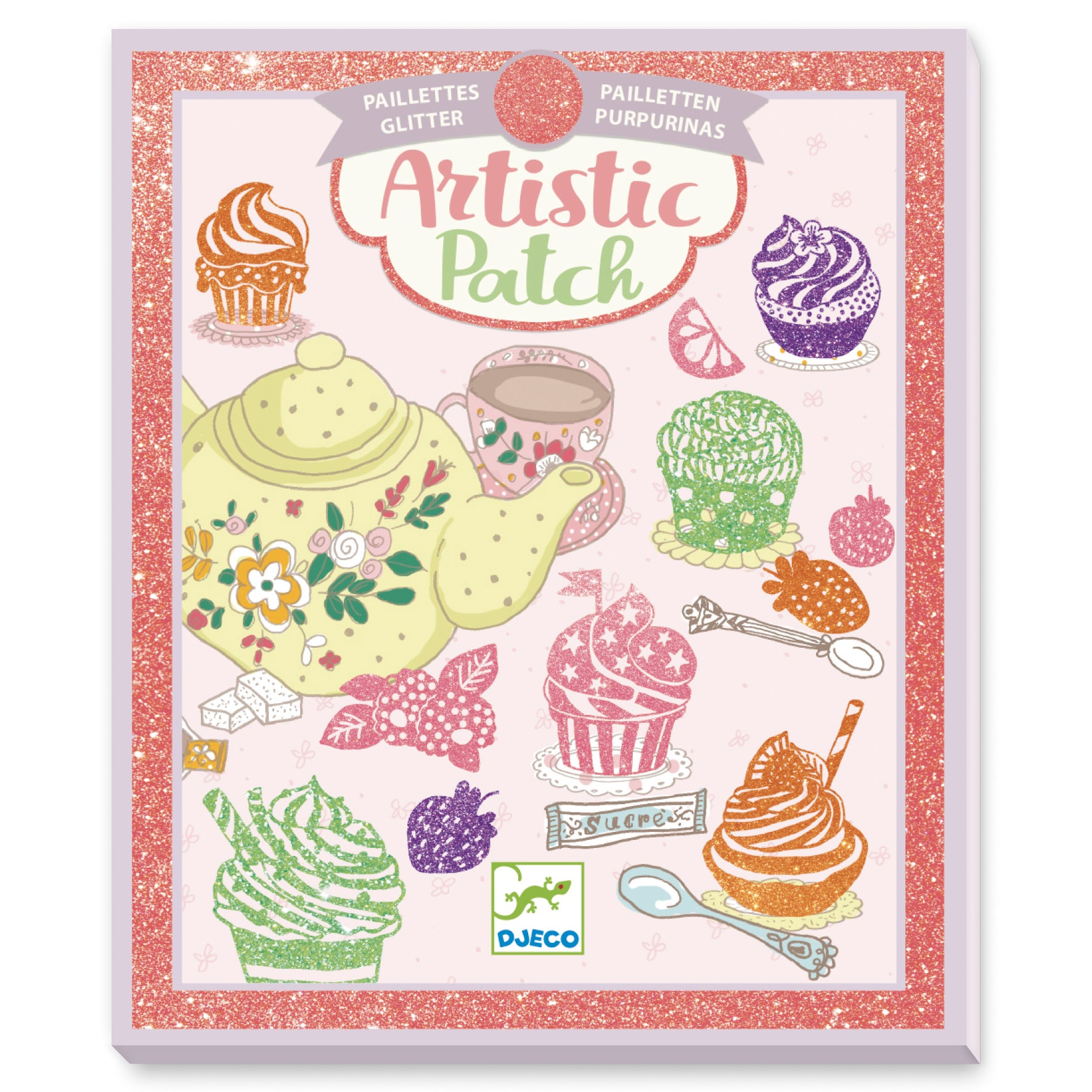 Artistic patch glitter / Gourmandises