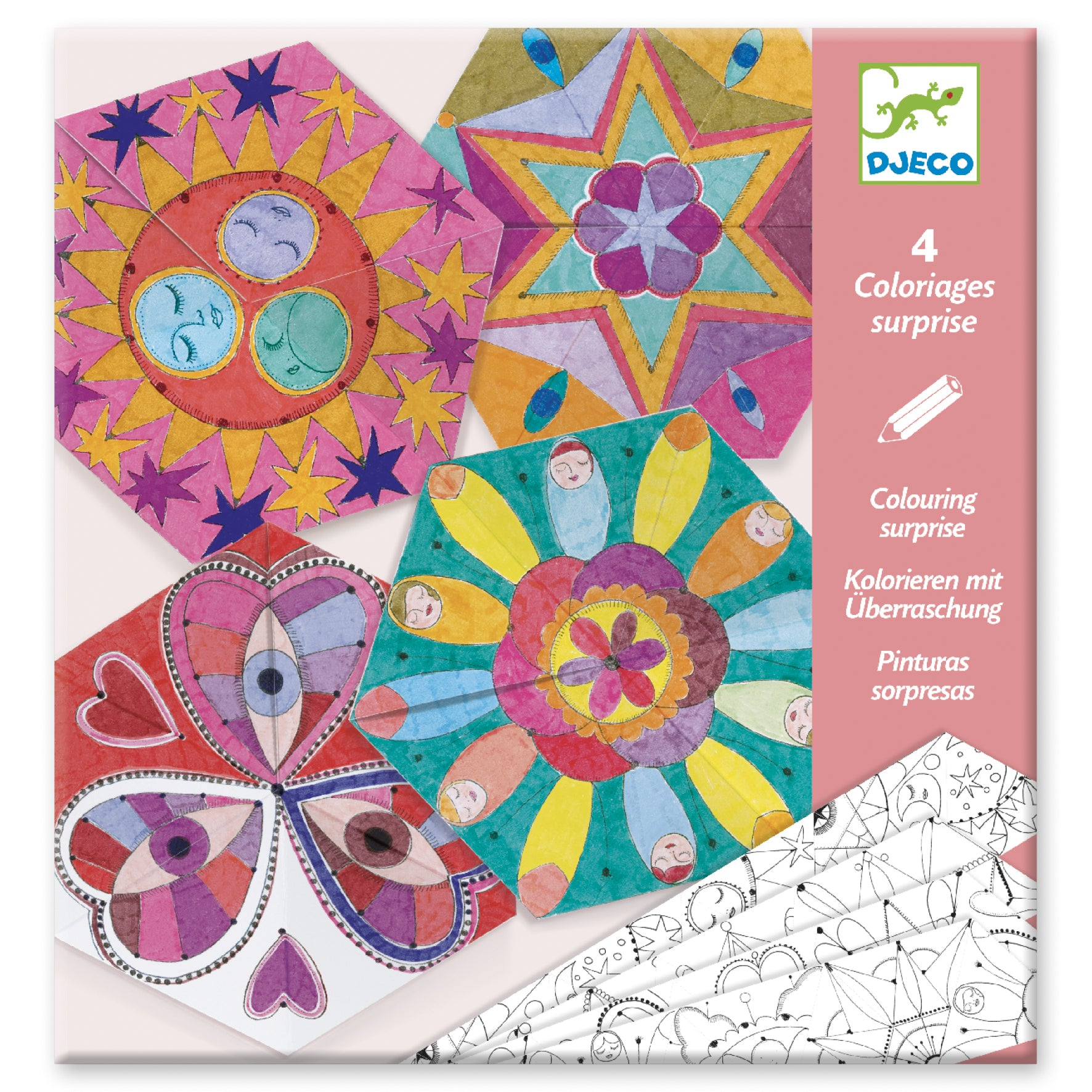 Coloriages surprises / Mandalas constellations
