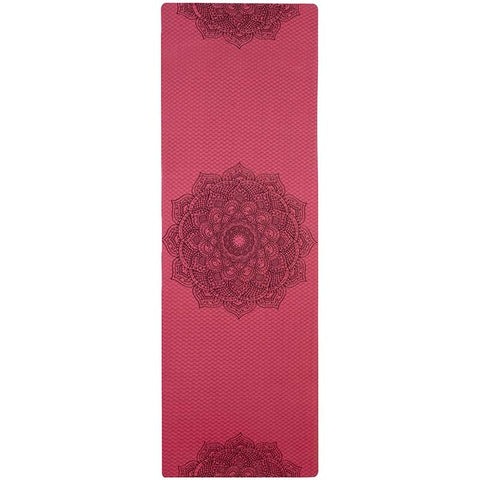 tapis de yoga bordeaux