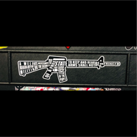 2nd Amendment AR 15 Gun Decal