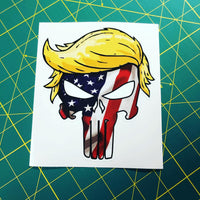 Trumpisher Decal