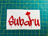 Seattle Subaru Paint Vinyl Decal