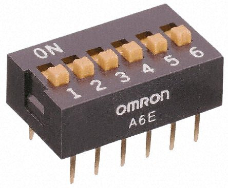 A6E6104 from Omron Electronic Components