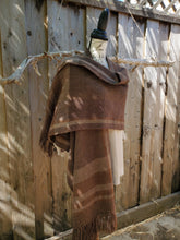 Load image into Gallery viewer, Handwoven Brown Ruana