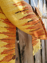 Load image into Gallery viewer, Handwoven Yellow-Orange Scarf