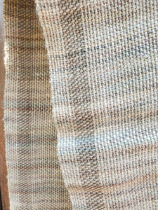 Handwoven Grey Scarf