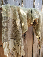 Load image into Gallery viewer, Handwoven Green Ruana