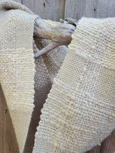 Load image into Gallery viewer, Handwoven Beige Cowl