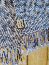 Load image into Gallery viewer, Handwoven Blue Scarf