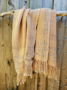 Handwoven Adobe Color Shawl