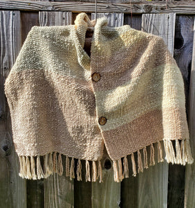 Handwoven Pastel Colors Shawl and Poncho