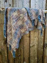 Load image into Gallery viewer, Handwoven Cotton Ponchito in Earthy tones