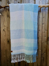 Load image into Gallery viewer, Handwoven Foggy Cotton Shawl