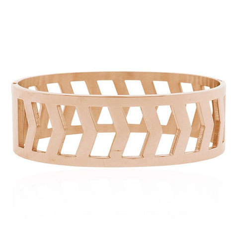 Open Bangle -Rosegold
