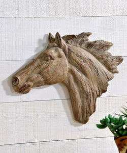 Horse Head Wall Decor