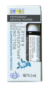 Aura Cacia Peppermint Roll On 9.2ml