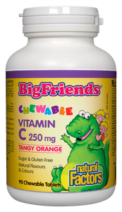 Big Friends Chewable Vitamin C 250mg 90 chewable