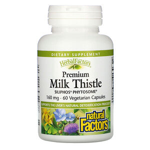 Premium Milk Thistle 160mg 60 Capsules