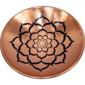 Copper Plate Lotus