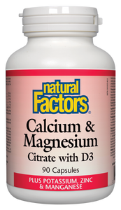 Calcium and Magnesium Citrate with D3 90 capsules