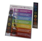Chakras and Daily Affirmation Journal