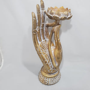 Hand with Lotus