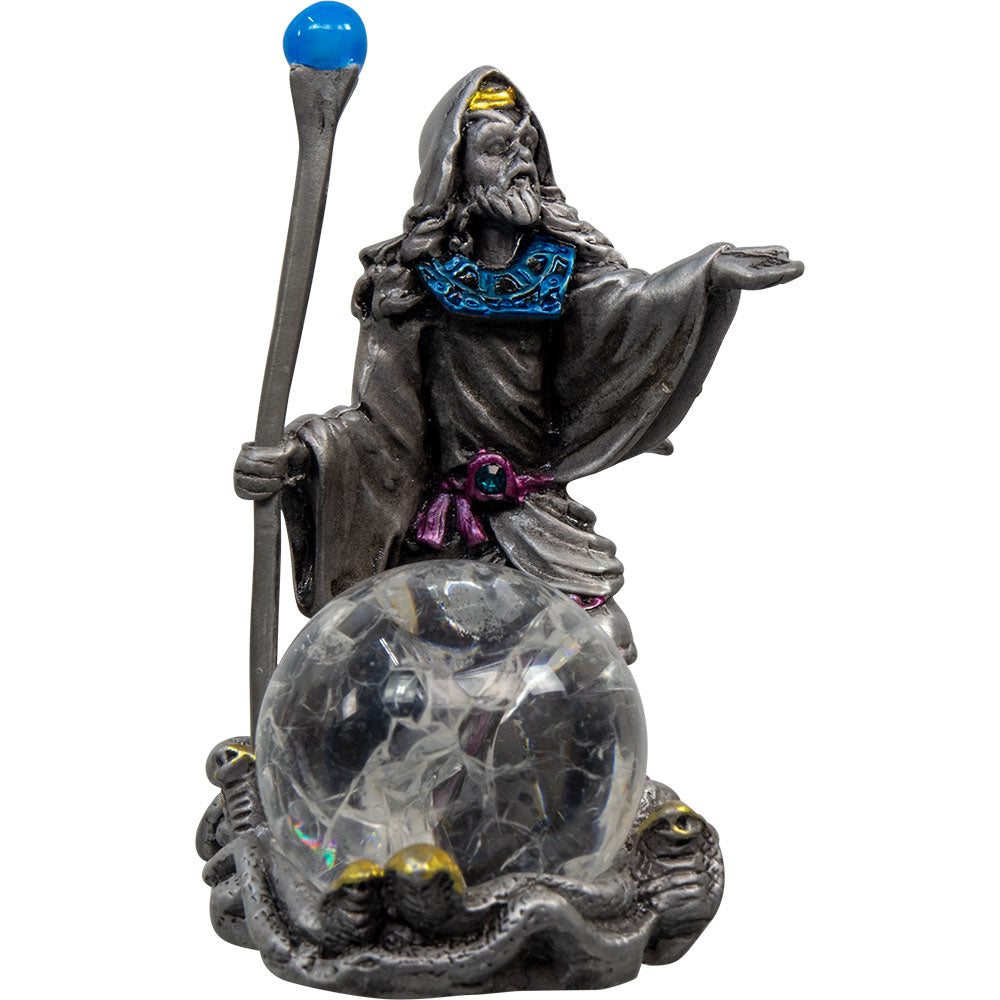 Wizard with Glass Sphere