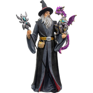 Wizard with Purple Dragon