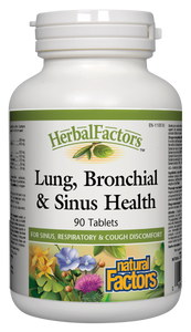 Lung, Bronchial, and Sinus Health 90 tablets