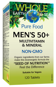 Men's 50+ Multivitamin and Mineral 120 tablets