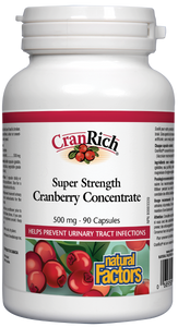 CranRich Super Strength Cranberry Concentrate 500mg 90 capsules