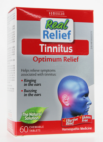 Real Relief Tinnitus 60 Chewable Tablets