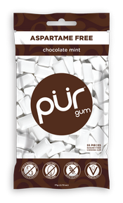 Pur Gum Chocolate Mint 55 pieces
