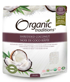 Organic Traditions Shredded Coconut 227g
