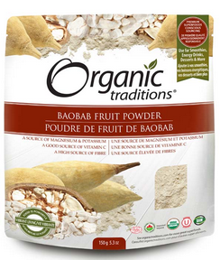 Organic Traditions Baobab Fruit Powder 150g