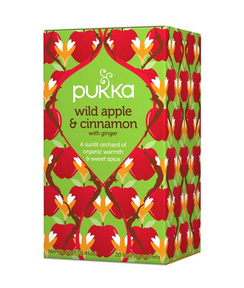 Pukka Wild Apple and Cinnamon Tea