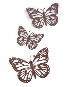 Butterfly Wall Decor (Set of 3)