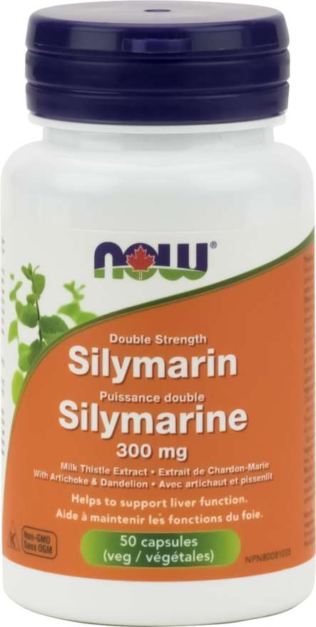 Double Strength Silymarin 300mg 50 capsules