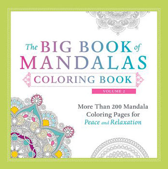 The Big Book of Mandala's Coloring Book