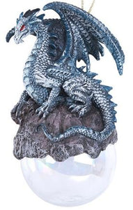 Dragon Ornament Blue