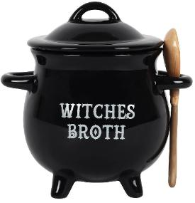 Witches Broth with Spoon