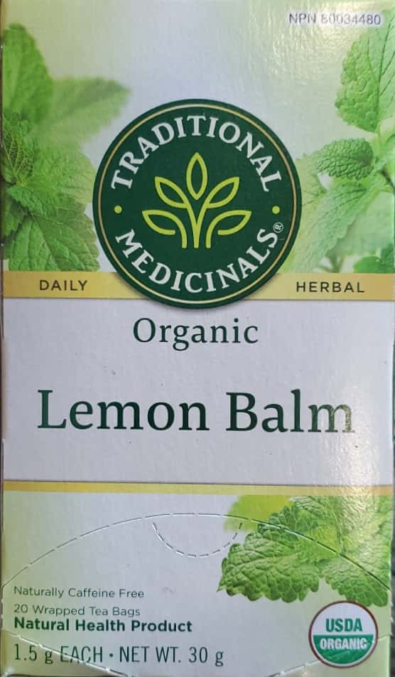 Traditional Lemon Balm Tea