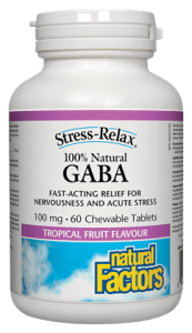 GABA 100mg 60 chewable Tablets