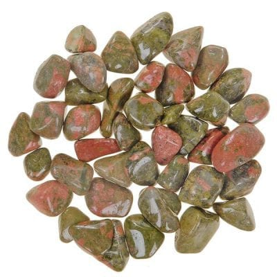 Unakite Loose Tumbled