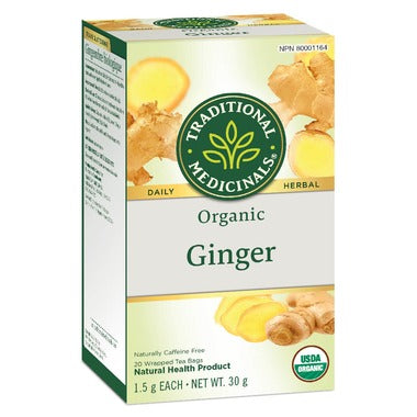 Traditional Medicinals Ginger Tea